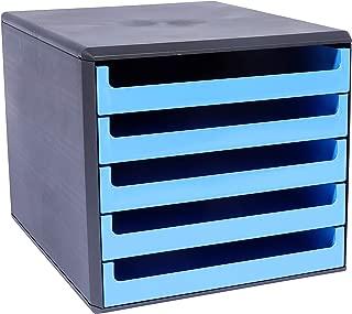 colore Cassettiera con 5 cassetti Rosso Metzger /& Mendle 30050906