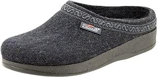 Men's Wool Felt Clog with Polyflex Sole
