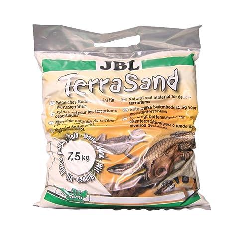 JBL TerraSand Natur Blanc 5l, Substrat de sol pour terrariums désertiques