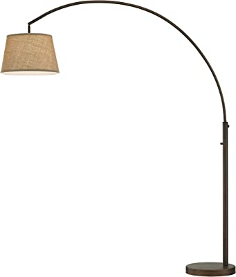 Floor Lamp, Zanflare LED Floor Lamp-Classic Arc Floor Lamp with ...
