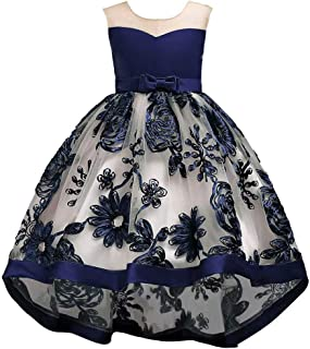 Flower Girl Dress 2-12 Year Old Multi Style Princess Dresses Pageant Wedding Party Prom Ball Gowns 009