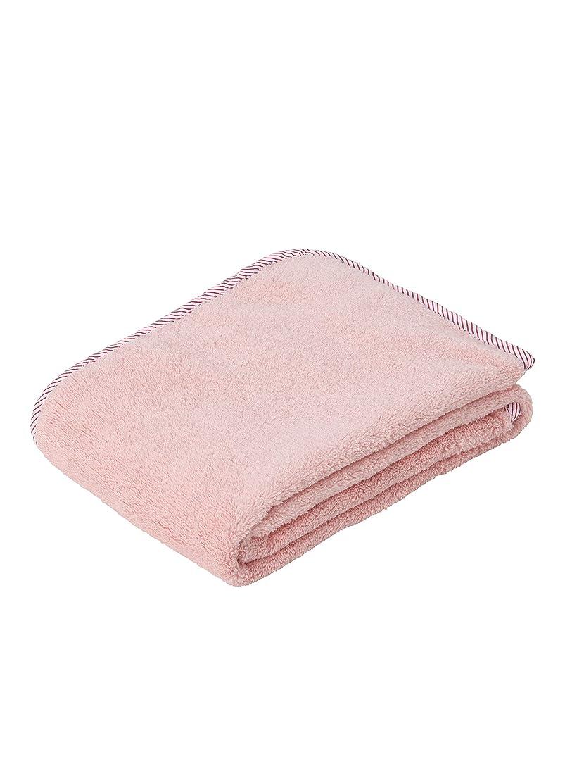 続ける厚いインストラクターシービージャパン タオル ピンク 抗菌 消臭 加工 ヘアドライタオル マイクロファイバー 抗菌カラリ carari