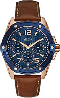 Guess Analog Blue Dial for Men Watch, W0600G3