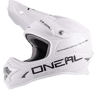 "O""NEAL 3 Series Motocross Enduro MTB Helm Flat weiß/schwarz 2018 Oneal: Größe: S 55-56cm"