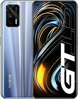 realme GT 5G Smartphone 8GB 128GB, pełny ekran 120Hz AMOLED, Snapdragon 888 5G, bateria 4500mAh, potrójny aparat 64MP, wer...