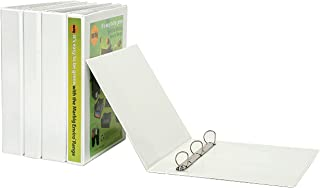 MARBIG(R) 5446508 Ring Binder Clearview A4 65MM 4D PP Whit, A4 65MM 4XD White *C,View