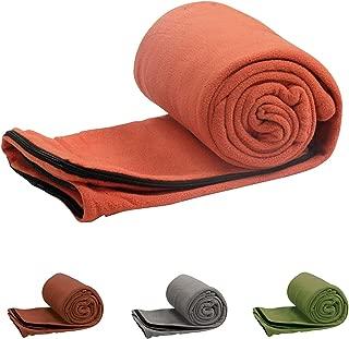 Coleman Stratus Adult Fleece Sleeping Bag Liner, Mixed Colors
