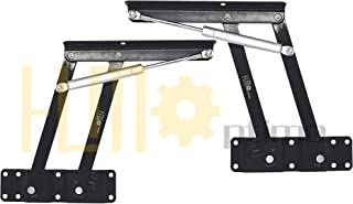 HLMxOptimo Gas Hydraulic Lift Top Hardware Lift top Table Mechanism Lift Up Top Coffee Table Mechanism Lift Top Hinges Lif...