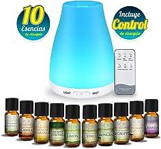 MEVA DIFUSOR de aceite aromas esencial aromaterapia con 10