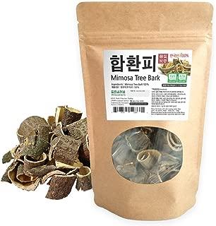 [Medicinal Korean Herb] Albizziae Cortex (Mimosa Tree Bark/Hehuanpi / 합환피) Dried Bulk Herbs 4oz (113g)