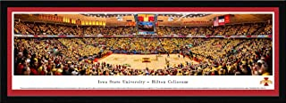 Iowa State Cyclones vs Kansas Jayhawks Basketball Panorama Print - Hilton Magic Strikes Again