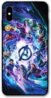 Comics iPhone XR Case Full Body Protection Cover Cases (Avengers-mv)