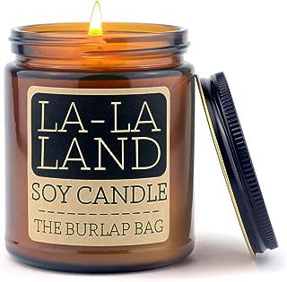 The Burlap Bag 9oz Soy Candles (La-La Land)