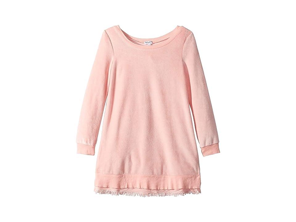 Splendid Littles Velour Dress (Big Kids) (Mellow Rose) Girl