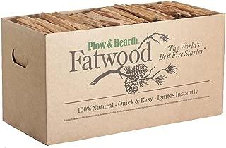 Plow & Hearth Fatwood Fire-Starter, 40 lb. Box