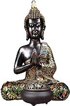 Home Accessories Desktop Sculpture Sitting Buddha Sculpture Chinese Decorative Crafts Buddha Statue Zen Statue Home Office...