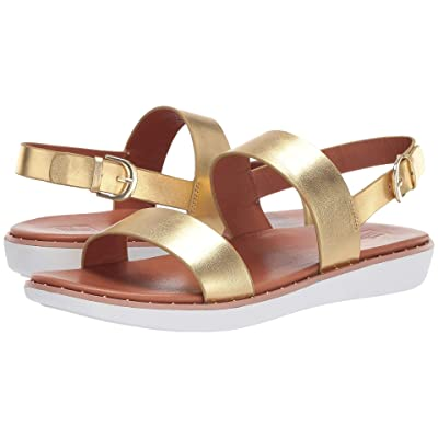 FitFlop Barra (Artisan Gold/Welted/White) Women
