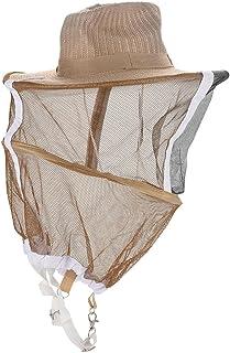 OKBY Sombrero de Apicultura - Sombrero de Apicultor Guardia de jardín Anti Mosquito Abeja Insect...
