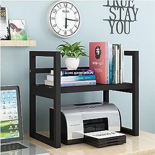 Support Imprimante Printer Stands avec rangement, Espace de travail Papier Organisateurs de bureau de bureau 2 Tier imprim...
