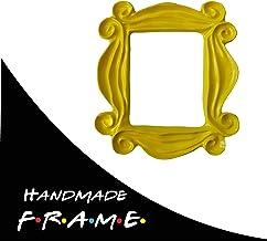 Cool TV Props Friends Yellow Peephole Frame – Friends TV Show Memorabilia Handmade Friends Merchandise