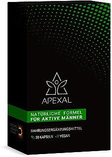 Apexal – für aktive Männer – 30 hochdosierte Kapseln zur dauerhaften..