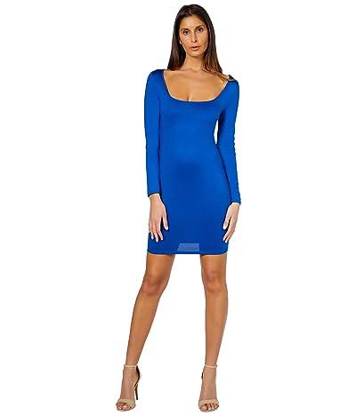 Bebe Square Neck Knit Dress