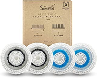 Sonimart Replacement Facial Cleansing Brush Heads, 4.6 Ounce