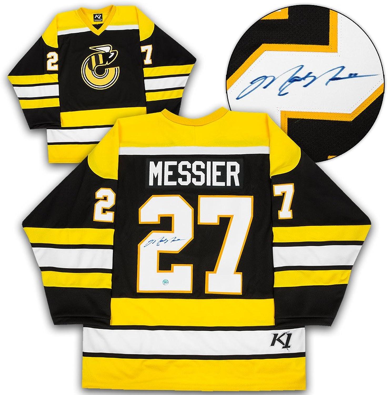 Mark Messier Cincinnati Stingers Autographed Retro WHA K1 Hockey Jersey