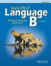 God's Gift Of Language B Answer Key