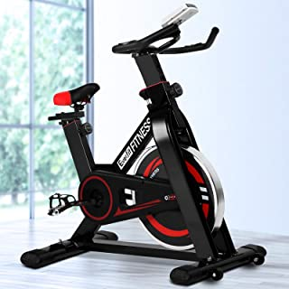 Exercise Bike Spin Bike 110KG/120KG Capacity 10KG/11KG Flywheel Indoor Cycling Resistance Workout Home Gym Fitness Machine...
