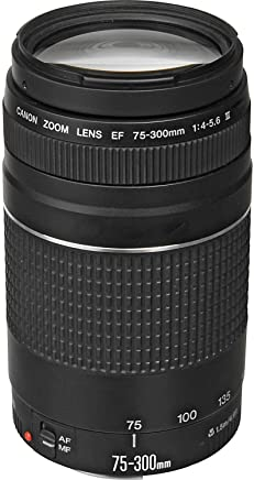 Canon EF 75-300mm f/4-5.6 III Telephoto Zoom Lens for...