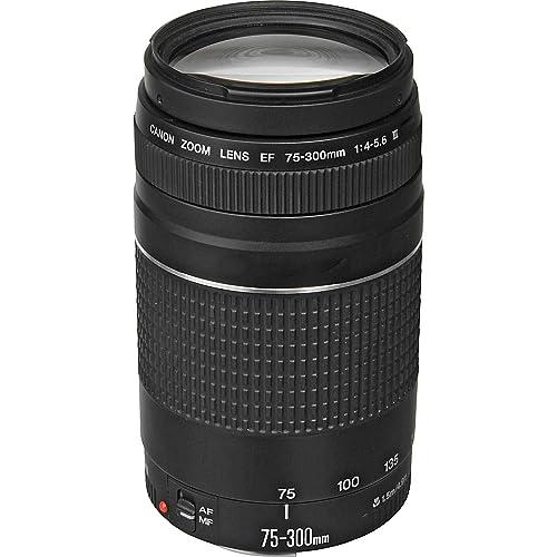 e0642139a4 Canon EF 75-300mm f 4-5.6 III Telephoto Zoom Lens for Canon