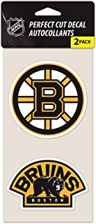 WinCraft NHL Boston Bruins 47975011 Perfect Cut Decal (Set of 2), 4