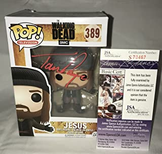 ad5e04ae72 Tom Payne Signed / Autographed Jesus The Walking Dead Funko Pop Toy Doll  Figurine - JSA