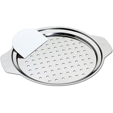 Ustensile à spätzle adaptable à des plats de diamètre 24 à 28 cm