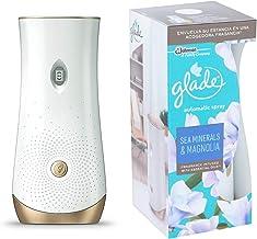GLADE ambientador automático sea minerals & magnolia aparato + recambio 1 ud