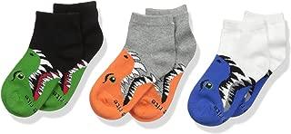 Stride Rite Boys' 3-Pack Quarter Socks
