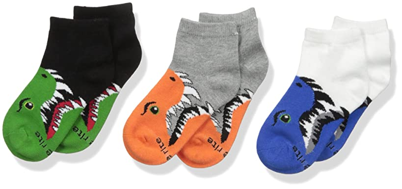 Stride Rite Boys' 3-Pack Quarter Socks