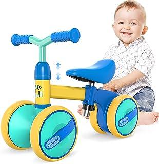 Gonex Baby balanscyklar cykel barn gångare för 1-3 år pojkar flickor, justerbart säte småbarn åka på ingen pedal 4 hjul sp...