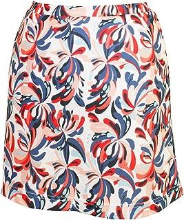 Ladies Dry Swing Water Fountain Print Pull-on Skort #2917