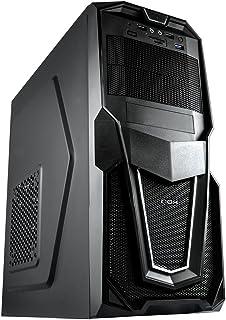 Nox NXRAVEN - Caja de Ordenador Torre ATX, Color Negro