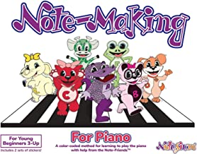 Note-Making For Piano: A color-coded method for learning to play the piano with help from the Note-FriendsTM