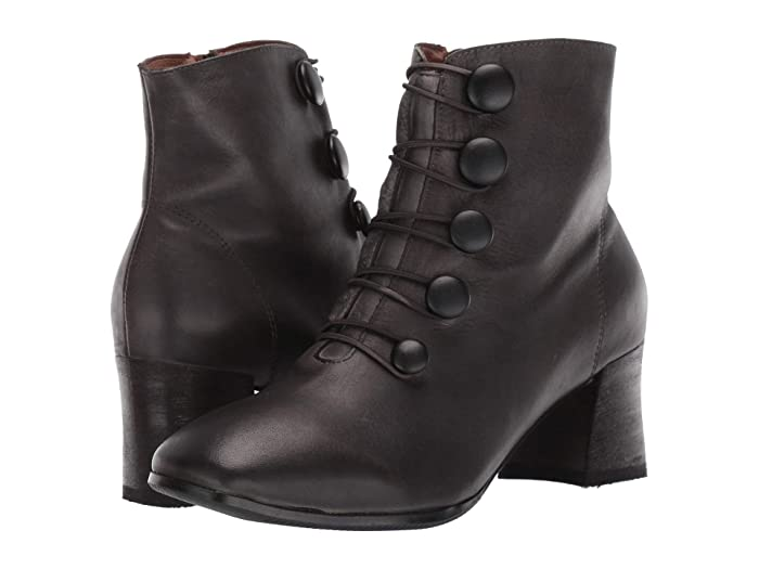 Steampunk Boots & Shoes, Heels & Flats LArtiste by Spring Step Mitzie Black Womens Boots $107.81 AT vintagedancer.com
