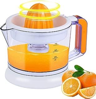 Large Capacity Electric Citrus Juicer   Juicer Squeezer Auto Reverse Pulp Fresh Lemon Orange Juice for Healthy Juice (750ML,25W)