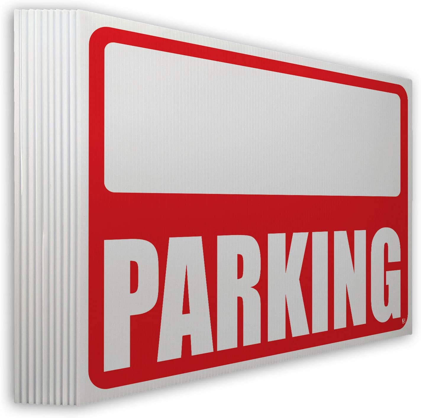 Parking Lawn Sign Kit with Spring new Ranking TOP16 work one after another Arrow 10 Stickers