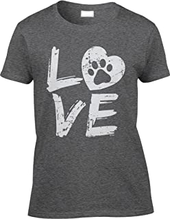 dog paw print shirt