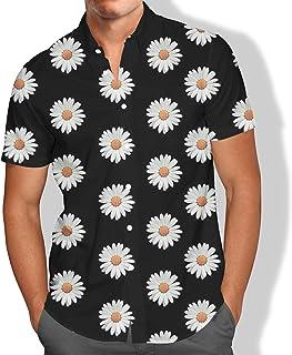 Camisa Praia Flores Gipso Campo Tropical Masculino