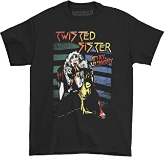 American Classics Twisted Sister Men`s Stay Hungry T-Shirt XX-Large Black