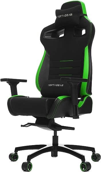 VERTAGEAR Racing Series P Line PL4500 Gaming Chair Black Green Edition
