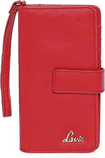 Lavie Astrid Mobile Pouch Vertical Women's Wallet(Red)